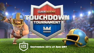Clash Royale: NEW GAME MODE! Touchdown Tournament!