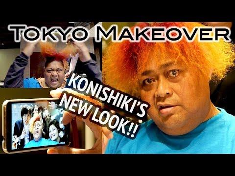 Konishiki's Fire Hair Makeover!! Afloat Japan