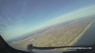 Landing at TOKYO - Narita Int'l Airport (NRT/RJAA) Japan - (Cockpit View)