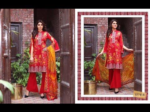 50266bad03 Tawakkal Fabrics Cosmic Chiffon Dresses 2017 for Women - YouTube