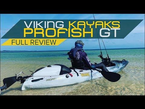 Fishing Kayak Review | Viking Kayaks Profish GT