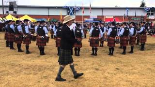 SFU Pipe Band medley - Seattle 2015