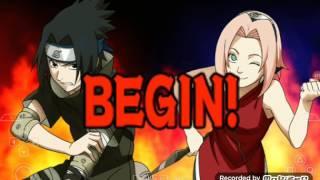 Naruto ninja Strom héros sur tablette gameplay