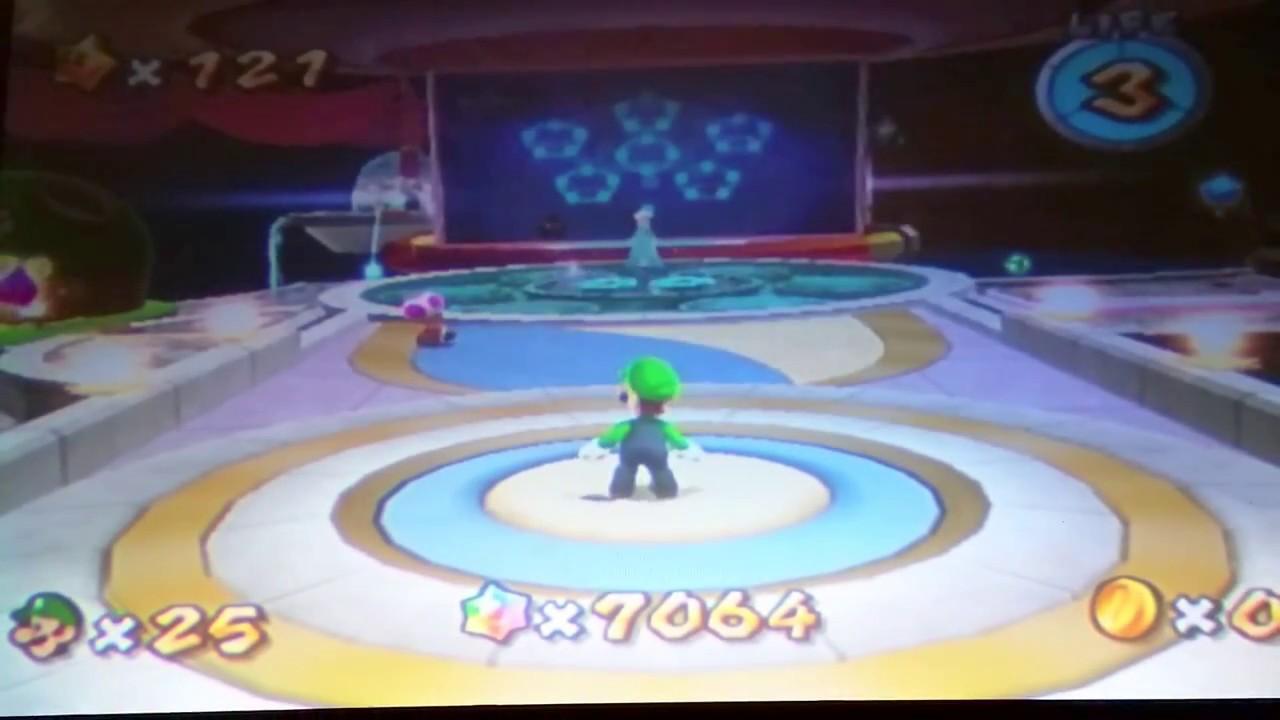 Super Mario Galaxy: Red Star Secret - YouTube