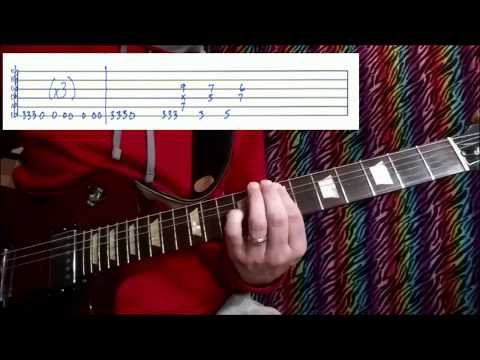 How to Play - Body Talks w. Tabs - The Struts & Kesha guitar lesson