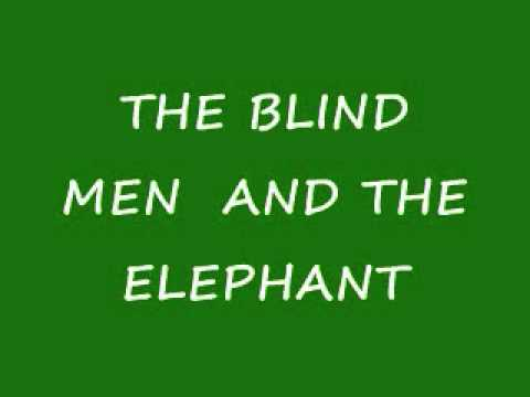 The blind men and the elephant (Shining star Intro)