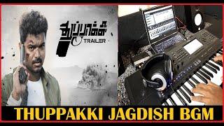 Thuppakki - Jagdish On Mission Theme BGM   Cover   Keyboard   SM Music Tech   Vijay
