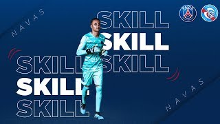 SKILL / GESTE TECHNIQUE : KEYLOR NAVAS - PARIS SAINT-GERMAIN vs STRASBOURG