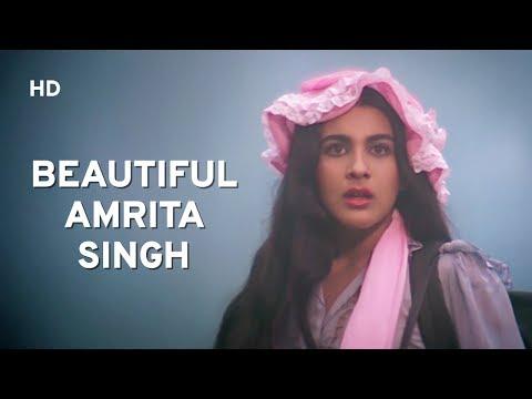 Sara Ali Khan's Mother AMRITA SINGH Scenes | Romantic Scenes | Sunny Deol | Popular Romantic Scenes
