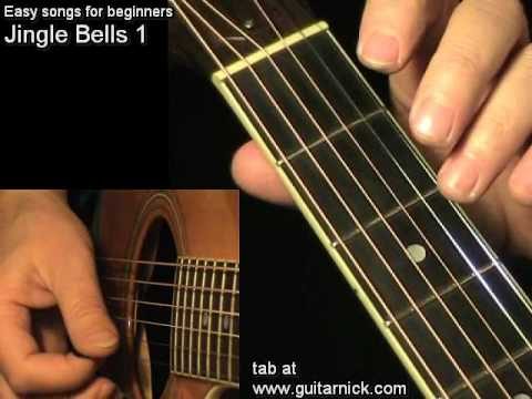 JINGLE BELLS: Easy Guitar lesson + TAB by GuitarNick