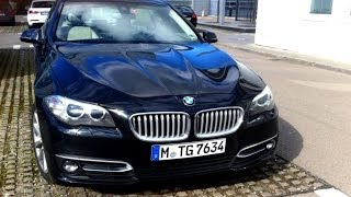 2014 BMW 525d F10 Facelift Test Drive