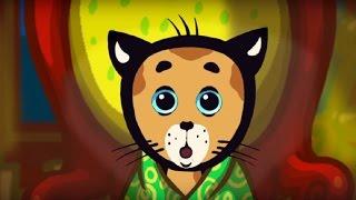 Песенки для детей - Три котёнка - Телевизор как магнит - обучающая детская песенка