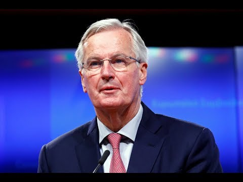 EU chief Brexit negotiator Michel Barnier presser