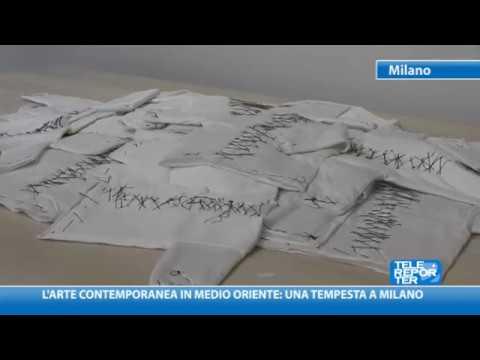 L'arte Contemporanea In Medio Oriente: Una Tempesta A Milano