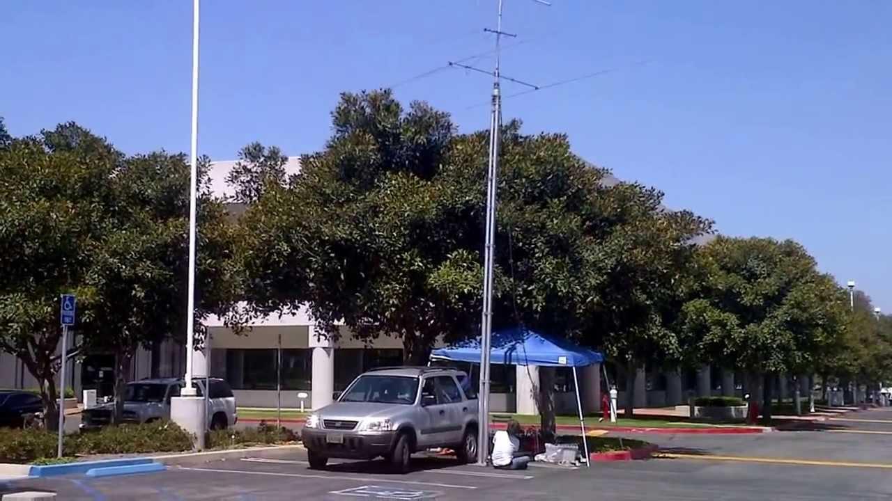 Ham Radio Field Day 2013 portable tower