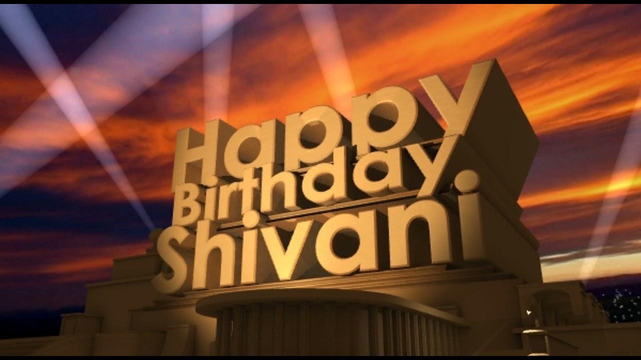 Happy Birthday Shivani