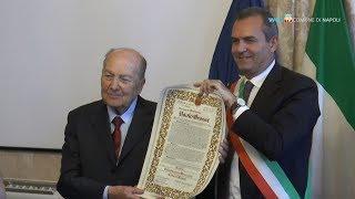 La cittadinanza onoraria di Napoli a Paolo Grossi