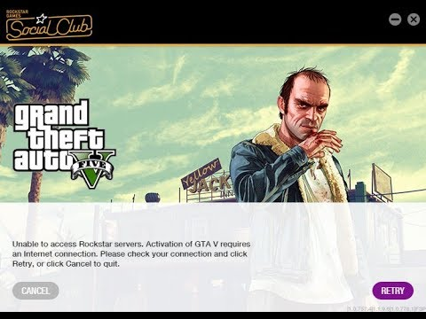 How To Fix GTA 5 unable to access Rockstar servers