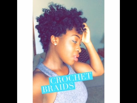 Tapered Crochet Braids using Curlkalon Hair Collection Review ...