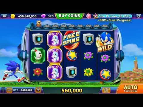 SEGA Slots (Android) Sonic the Hedgehog Rescue Jackpot