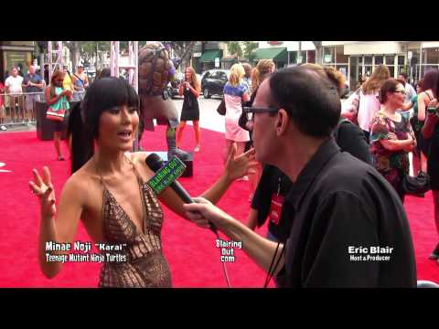 MINAE NOJI talks Make Up with Eric Blair TAMNT Red Carpet