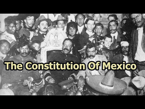 On This Day - 5 Feb 1917 - The Constitution of Mexico Was Ratified