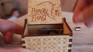 Музыкальная шкатулка (мелодия Красавица и чудовище) Music box Aliexpress (Beauty and the beast)