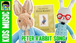 Peter Rabbit Song for Children   Original Kids Music to Beatrix Potter Story