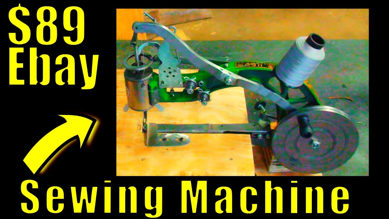 YEP! I Bought An $89 eBay Walking Foot Sewing Machine Then Made A Shift Boot For The Rat Rod