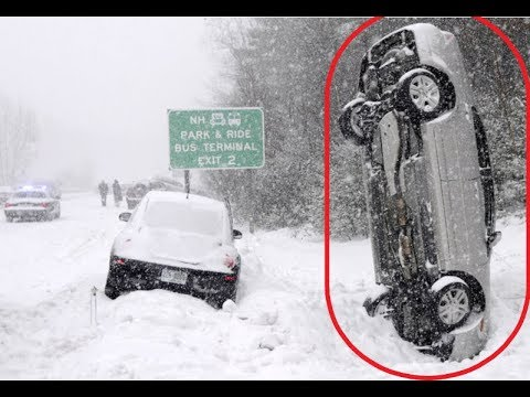 Car Snow Fails Compilation Russian