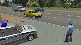 Traffic Cop Simulator 3D - Android Gameplay