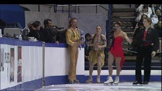 [HD] Ice Dance Final 1, Final 2 Warming Up - 2000/2001 GPF