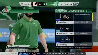 Jets vs Giants, EA Trax