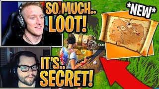streamers-first-time-using-new-buried-treasure-map-item-fortnite-moments