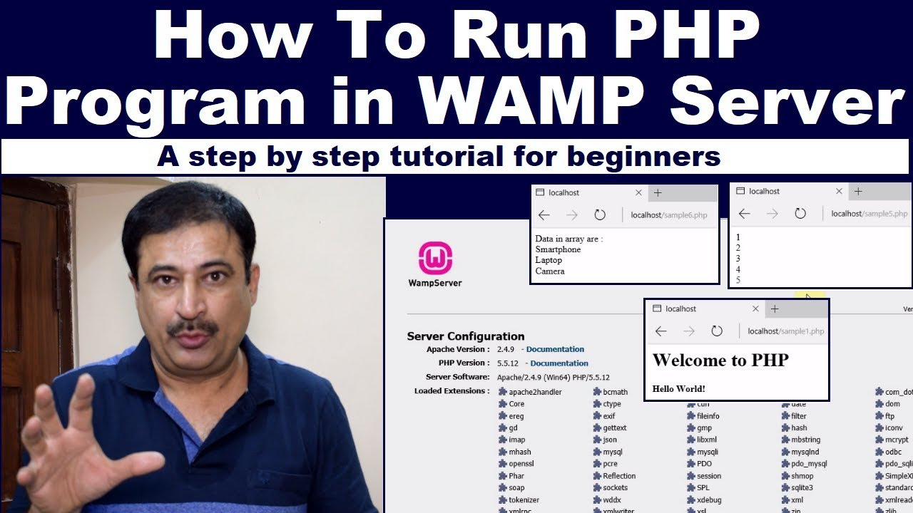 How To Run PHP Program in WAMP Server