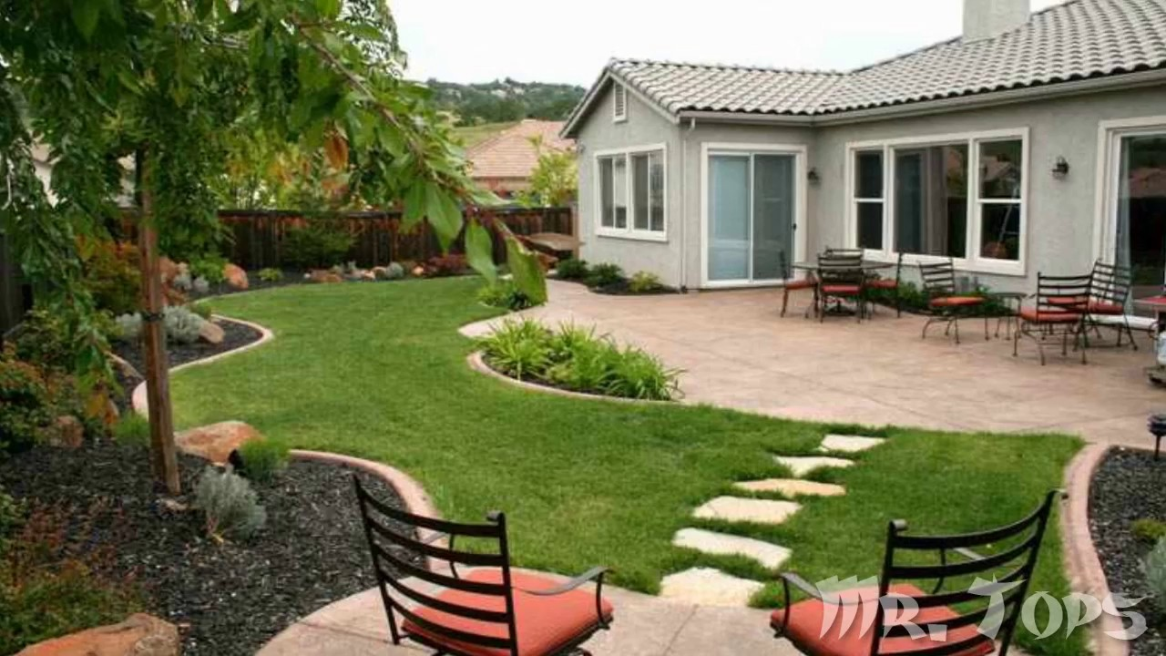 Patios de casas modernas elegant patio trasero diseo - Casas con jardines bonitos ...