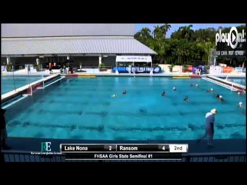 Girls Water: Polo State Semifinal - Lake Nona vs Ransom