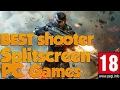 6 PC splitscreen action/shooter Games (coop/versus)