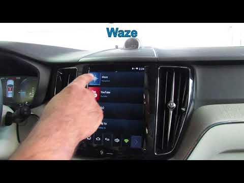 VOLVO XC60 Android (WAZE)
