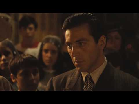 The Godfather I (1972)- Baptism Scene, Michael Kills all the heads of the other families
