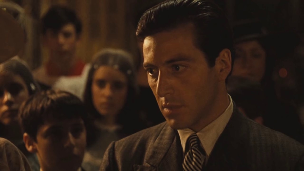 Download The Godfather I (1972)- Baptism Scene, Michael Kills all the heads of the other families