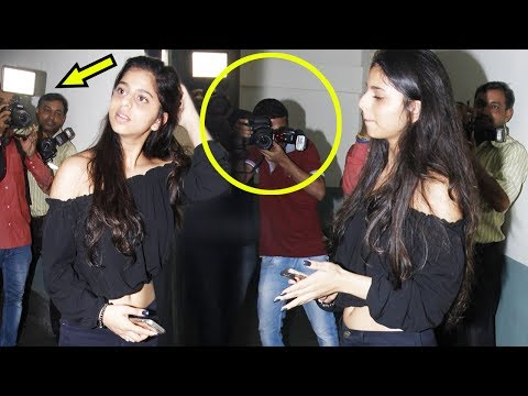 Thumbnail: Suhana Khan Gets ANGRY On Photographers Like Never Before At Tubelight Screening