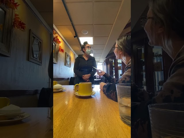 Waitress surprised with $1,000 cash