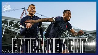 Veille de Belgique France à Turin Equipe de France I FFF 2021