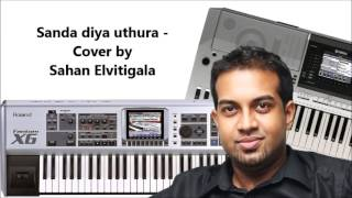 Sanda diya uthura - Cover by Sahan Elvitigala