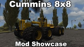 Farming Simulator 2013: Cummins 8x8 - Monster Tractor! Mod Showcase