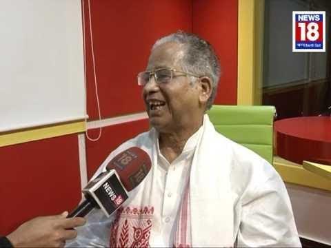 Exclusive Interview Of Ex. Assam CM Tarun Gogoi With Journalist Surajit Saikia