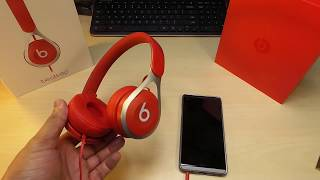Beats EP  Newest Headphones  beats by dre  Unboxing / Sound demo