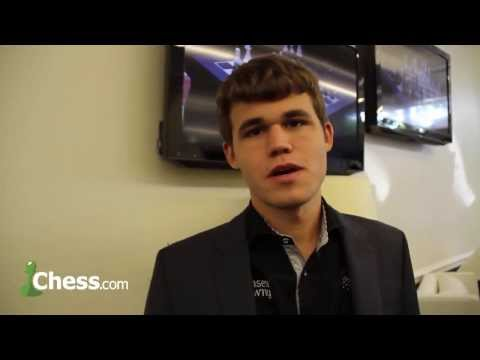 Chess News: Sinquefield Cup Interview with Carlsen!