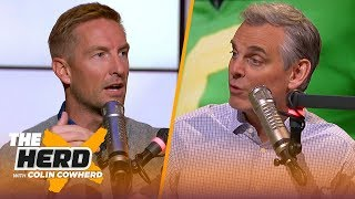 Joel Klatt weighs in on initial CFP rankings, talks OSU, Oregon's playoff hopes | CFB | THE HERD